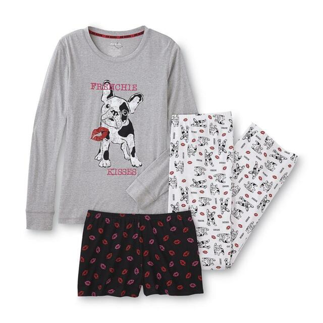 Joe Boxer Junior Knit Pajama Top Pants   Shorts 3-pc Set - Dog   Puppy for  sale online  fb4b0f770
