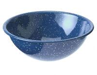 Gsi Outdoors Blue Graniteware 7.75 Enamelware Mixing Bowl Camping Bowl - 1 Qt.