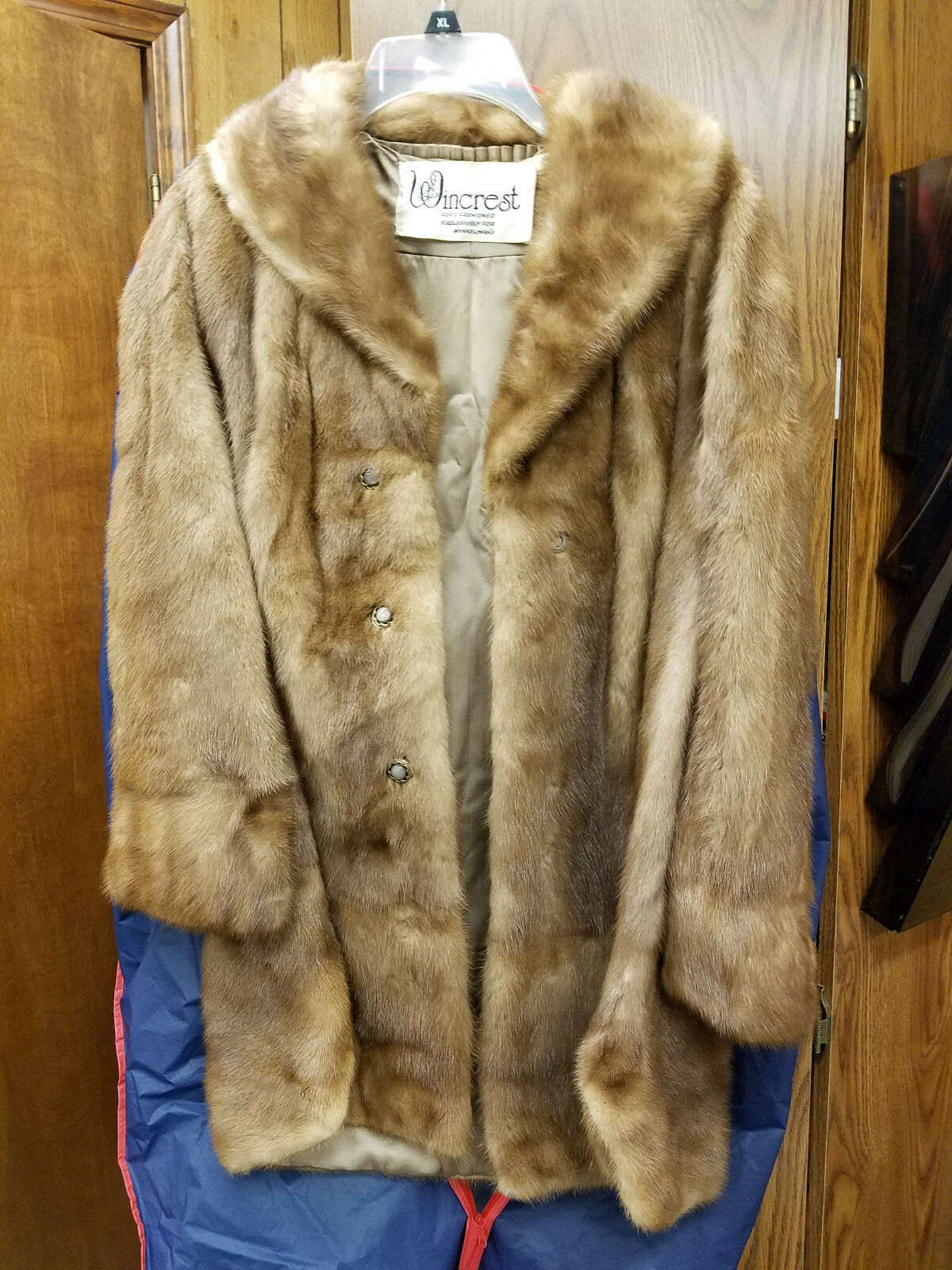 Wincrest Medium Length Fur Coat Exclusively for Winkleman's