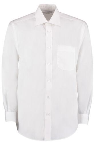 KK104 Kustom Kit Men/'s Long Sleeve Business Shirt Formal Office City Wedding