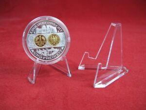 16 Stück Münzenständer Medaillenständer auch für größere Münzen in Kapsel - Barleben, Deutschland - 16 Stück Münzenständer Medaillenständer auch für größere Münzen in Kapsel - Barleben, Deutschland