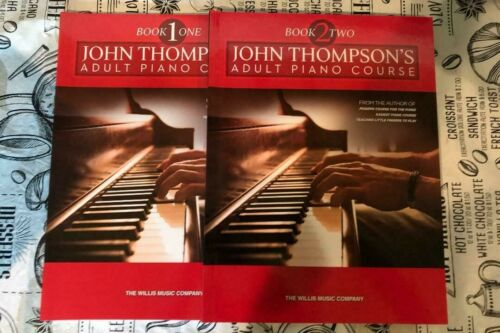 John Thompson Adult Piano Course Book 1 and 2 Combo Piano Book