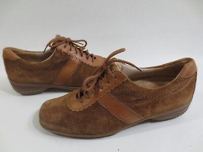 GABOR Lady Schnürschuhe Keil Sneaker 5 38 G Schuhe Leder zimt braun /86