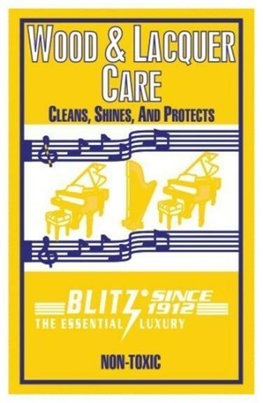 Blitz #311 Wood & Lacquer Care Treated Cloth