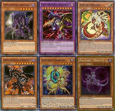 Yugioh Five-Headed Dragon and Five Dragons Set // Lot 5 3 Holos Foils