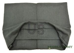 NEW-US-Army-OD-Olive-Wool-Blanket-High-Quality-Military-75-Wool-Blanket-Camping