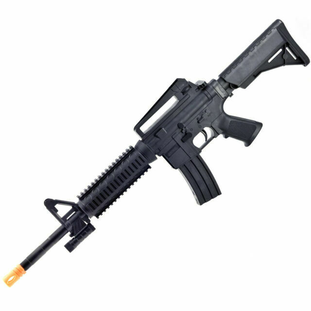 Uk Arms M16 Tactical Assault Heavy Spring Airsoft Rifle Gun 6mm Bb With Laser For Sale Online Ebay