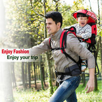 Baby Backpack Carrier Hiking Piggyback Rider Child Toddler Camping Fitness