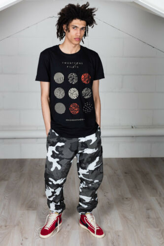 Official Twenty One Pilots Pattern Circles Unisex T-Shirt Holding On To You