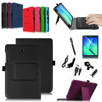Stand Pu Leather Case Cover Bluetooth Keyboard For Samsung Galaxy Tab A 8-inch