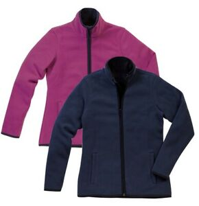 Mens Mans BLUE or GREEN Jacket Microfleece Outer Warm Cozy Teddy Fleece Inner