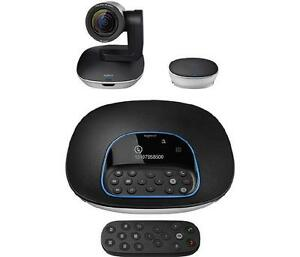 Logitech GROUP Video Conferencing System - Black