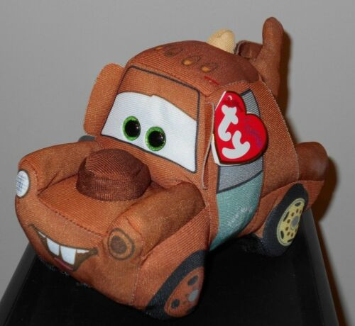 Ty Beanie Babies Baby ~ Disney/Pixar CARS 3 - MATER the Tow Truck (6 Inch) NEW