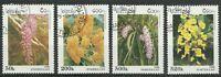 LAOS/ Orchideen MiNr 1534/37 o