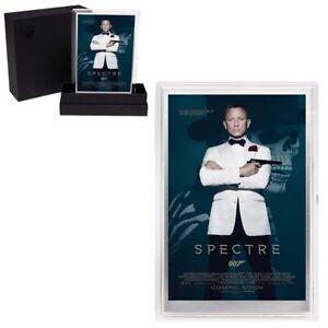 2020 5 gram Silver Foil James Bond 007 Spectre Movie Poster Perth Mint