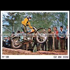 #amp72.128 ★ GASTON RAHIER sur CZ 250 MOTO CROSS 70's ★ Americana Moto Parade 72
