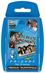 Top-Trumps-Friends-30-beste-Momente-Quartettspiel-Kartenspiel-Quartett-Spiel