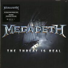 MEGADETH THE THREAT IS REAL VINILE LP 180 GRAMMI NUOVO SIGILLATO !!