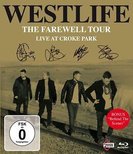 Westlife-L-039-ADDIO-Tour-LIVE-at-croke-PARK-BLU-RAY-NUOVO