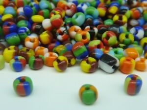 50g-Colours-Mix-Seep-Glass-Seed-Beads-Size-6-0-4mm-Jewellery-Making-Craft
