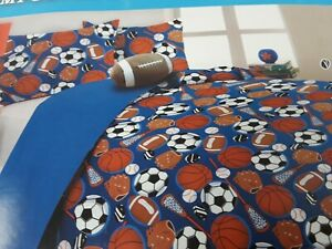 All Star Sports Kids Twin Size Bedding Comforter Set for ...