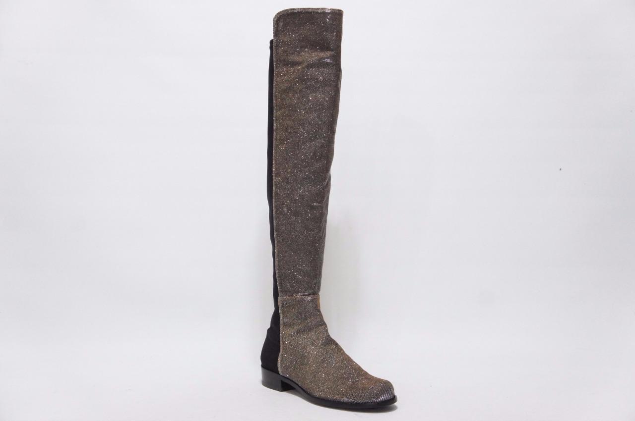 Stuart Stuart Stuart Weitzman Reserve Stretch Metálico botas Zapatos 6 m  635  Seleccione de las marcas más nuevas como