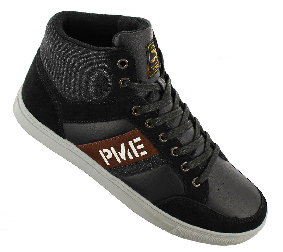 NEW PME Legend Frame Mid Leather PBO186023-999 Men''s shoes Trainers Sneakers SA