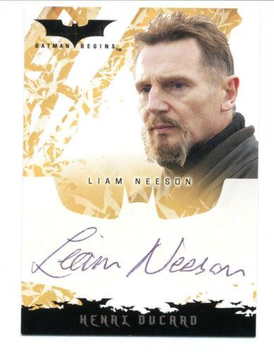 Autogramm 72 Stunden Batman Begins Liam Neeson The Dark Knight Rises