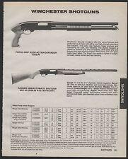1989 WINCHESTER Pistol Grip  Defender and Ranger Semiautomatic Shotgun AD