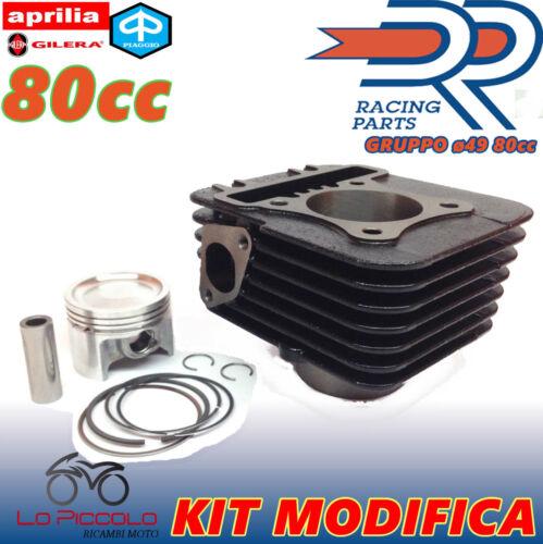 KT00133 GRUPPO TERMICO DR MODIFICA D.49 80cc PER PIAGGIO LIBERTY 50 RST 4T