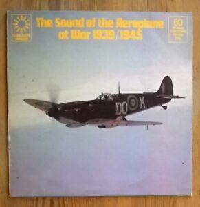 No-Artist-The-Sound-Of-The-Aeroplane-At-War-1939-1945-Vinyl-Lp-Album-33rpm-1975