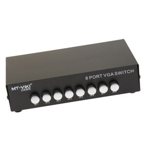 8-Port-VGA-Switch-Audio-Video-Switcher-Box-8-x-1-Selector-for-Monitor-LCD