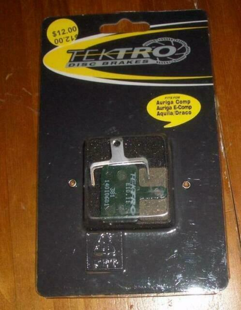 2x for Tektro Orion//Auriga PRO//Auriga Comp// E-Comp tektro Draco// disc brake pads