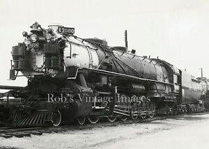 Union-Pacific-Up-Photo-Steam-train-Giant-Locomotive-9000-4-12-2-Railroad
