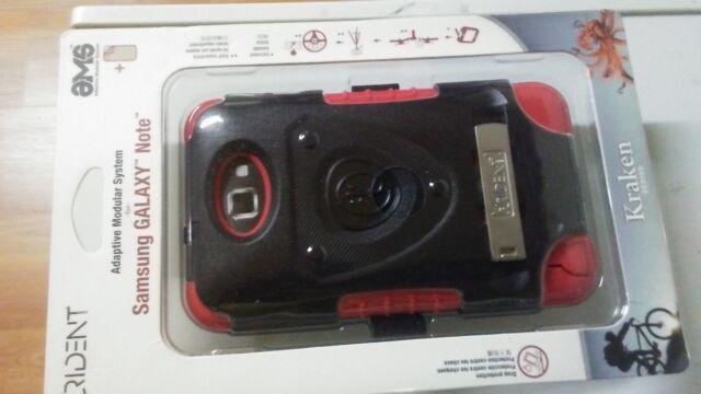 Trident Adaptive Modular System  Kraken Case, Samsung GALAXY Note, Black/Red