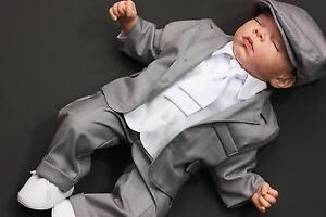 Taufanzug-Taufanzug-Junge-Baby-Anzug-Anzug-Taufe-Babyanzug-G005-7