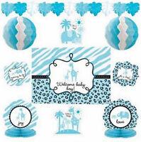 Sweet Safari Boy Baby Shower Decorating Kit (10 Piece) - 241132