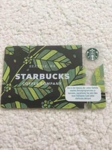 Starbucks Card Seattle Frühling 2018 Neu /& unbenutzt ❤️❤️❤️