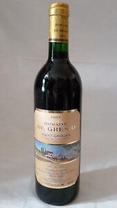 1993 Domaine De Gresio Saint-chinian-afficher Le Titre D'origine Excellente Qualité
