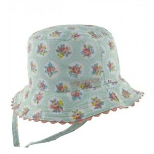 4561b54783c7bf Millymook - Baby Girls Reversible 0-12 Months Sage Bucket Hat - Mint ...