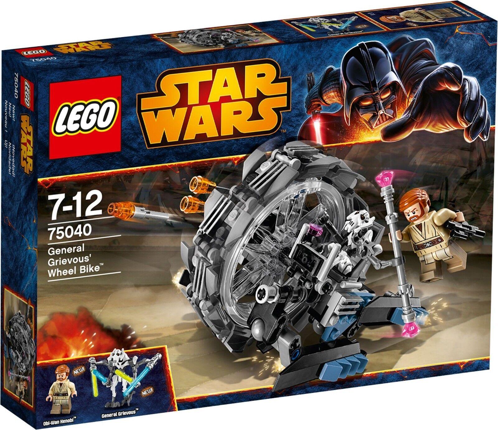 LEGO estrella guerras 75040 General Grievous'  rueda Bike NUEVO y PRECINTADO  outlet in vendita