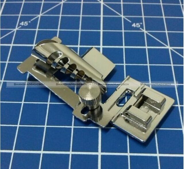 1pc Snap-on Metal Bias Tape Binder Foot For Brother Singer Janome Sewing Machine