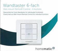 Artikelbild Homematic IP Wandtaster - 6-fach Weiss