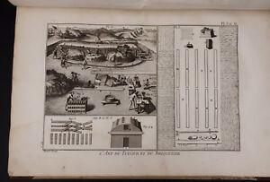 L-039-Art-du-Tuilier-et-du-Briquetier-L-039-Art-du-Potier-de-Terre-1763-1773