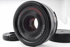 Exc+++ Voigtlander Ultron 40mm f2 SL II Aspherical Nikon Ai-s from Japan #848