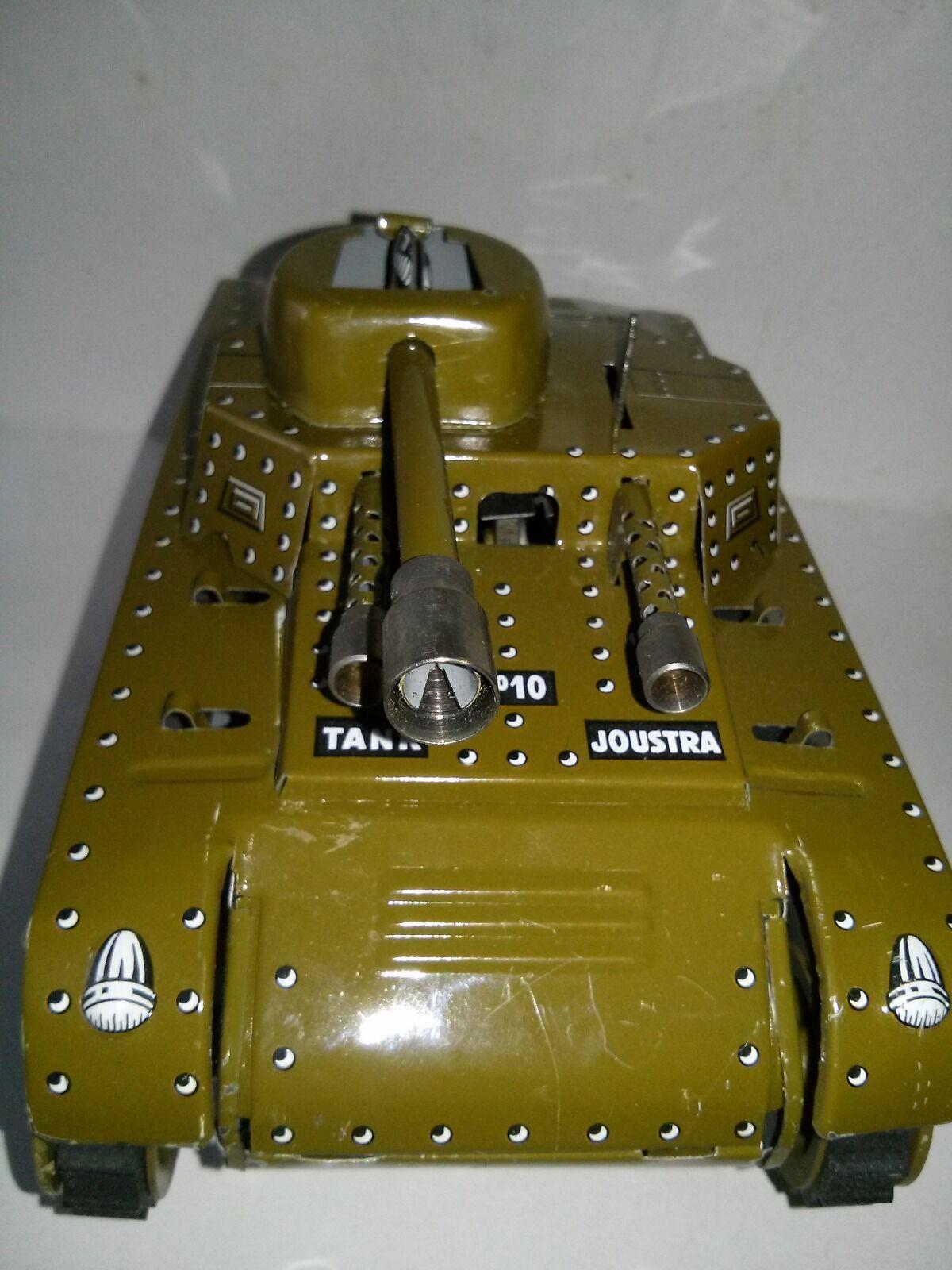 Carro armato DI LATTA MARCA JOUSTRA 20 CM giocattolo