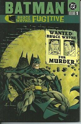 Batman Bruce Wayne: Fugitive Tp 1 - Dc 2002 ( Comics Usa )