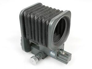 Leitz Leica Balgengerät Bellows M + Adapter 16558Z für 4/90 2,8/90 3,5/65 TOP
