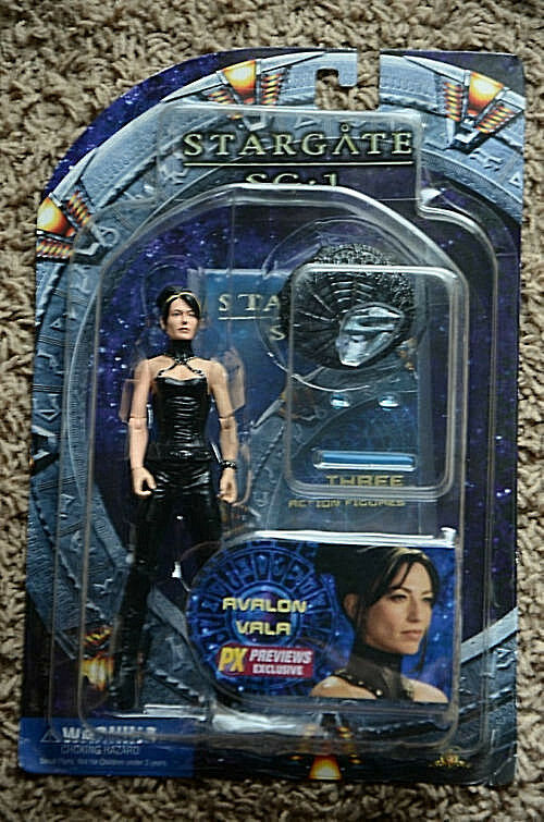 STARGATE SG*1 Collection_AVALON VALA action figure_Exclusive Limited Edition_MIP
