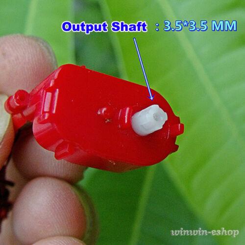 DC 3.7V 300RPM Mini Turbo Worm Gear Reduction Motor Coreless Gearmotor DIY Toys